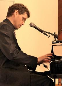 Dietrich Jäger am Klavier