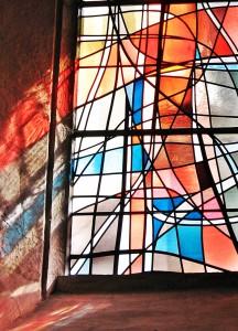 Kirchenfenster Porrentruy Seite